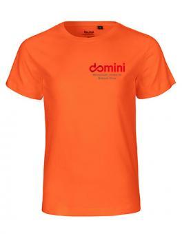 "Kids T-Shirt Domini ""Orange"""
