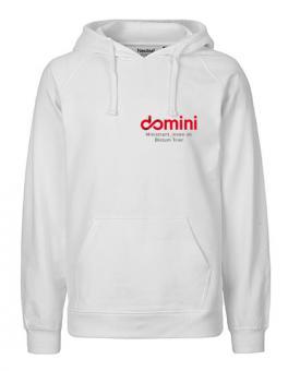 "Mens Hoodie Domini ""White"""